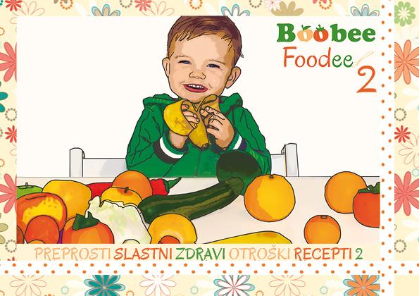 Knjigica z recepti BoobeeFoodee 2