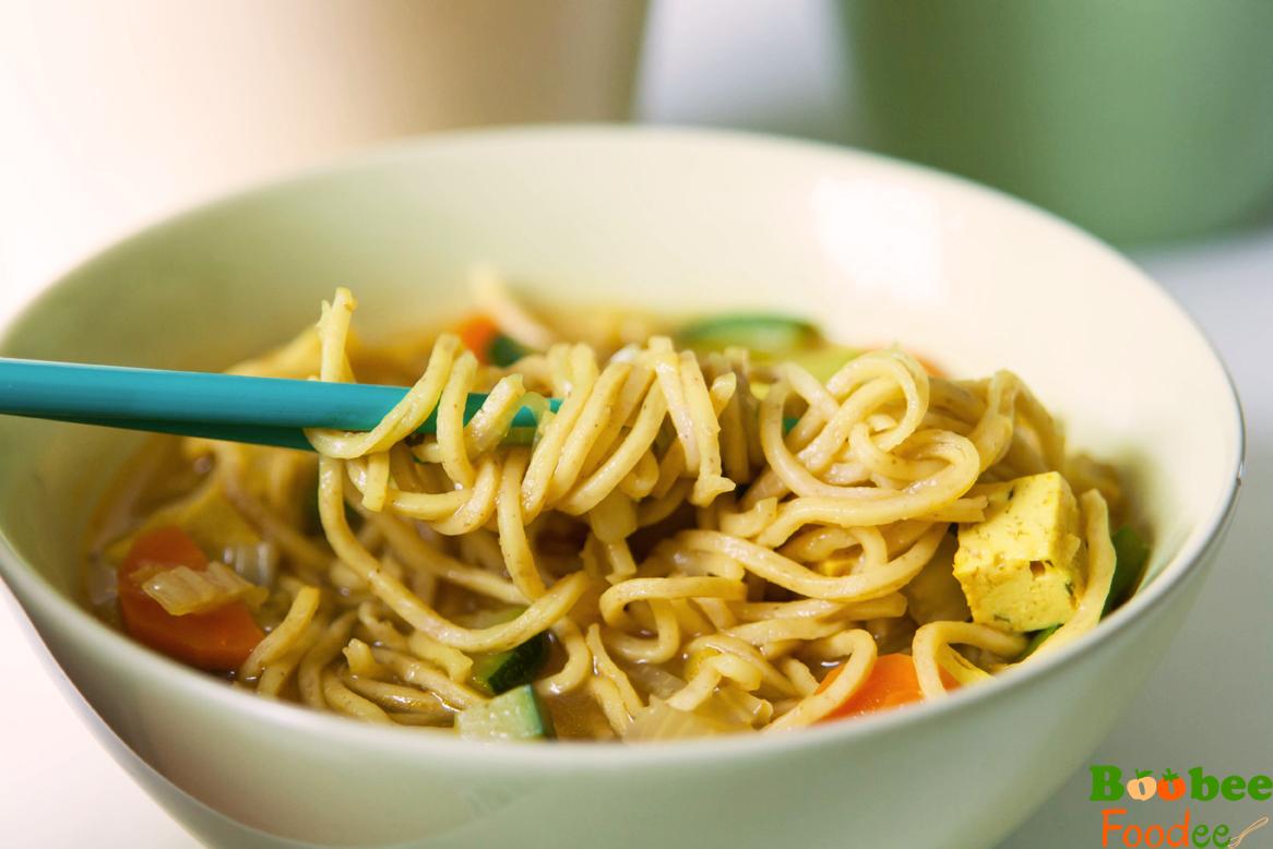 enoloncnica iz tofuja, korencka, kitajskega zelja, paprike2