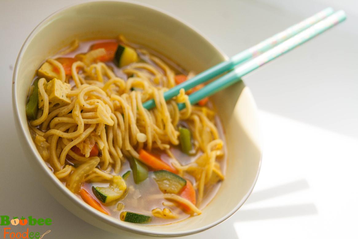 enoloncnica iz tofuja, korencka, kitajskega zelja, paprike3
