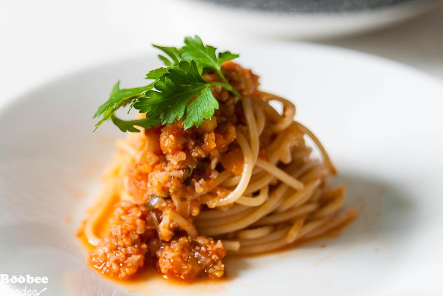 Bolonjska brezmesna omaka 2