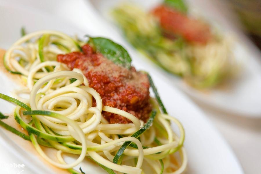 buckini spageti s paradajz omako