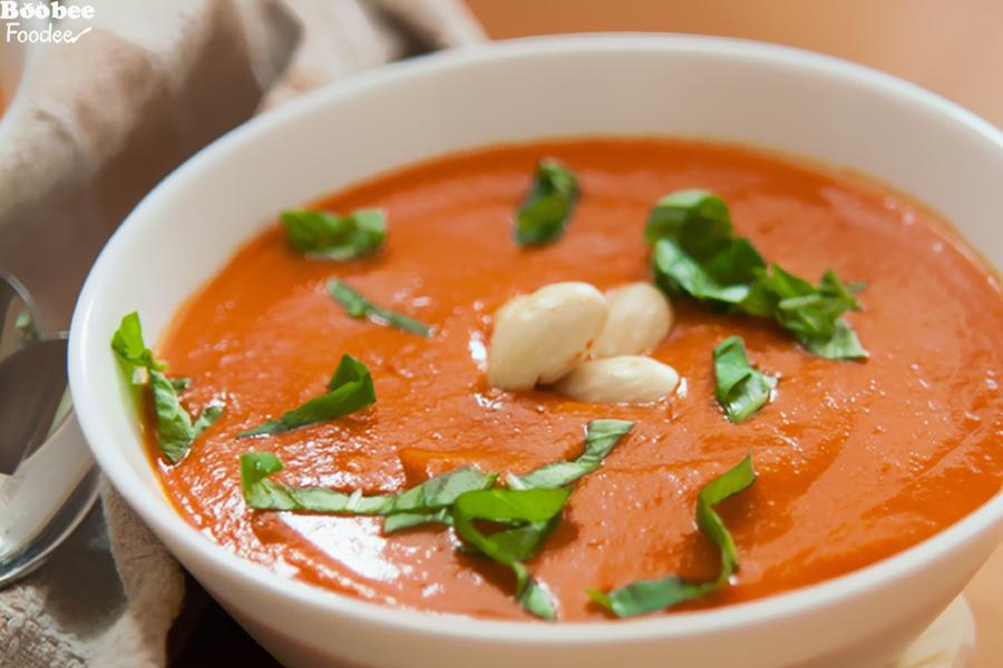 Žametna paradižnikova juha