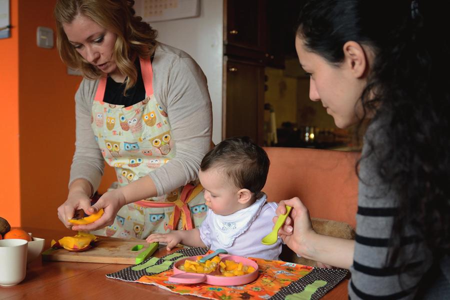 Osebne delavnice za uvajanje goste hrane