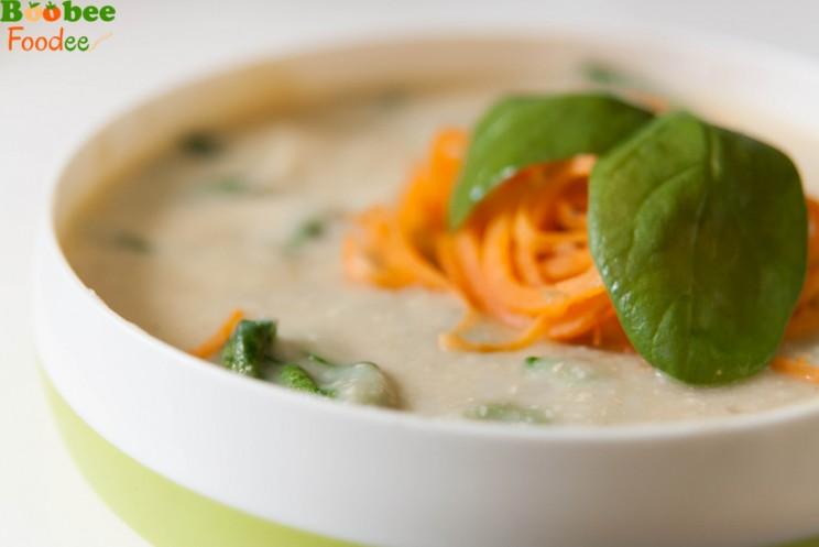 cvetacna juha s spinaco