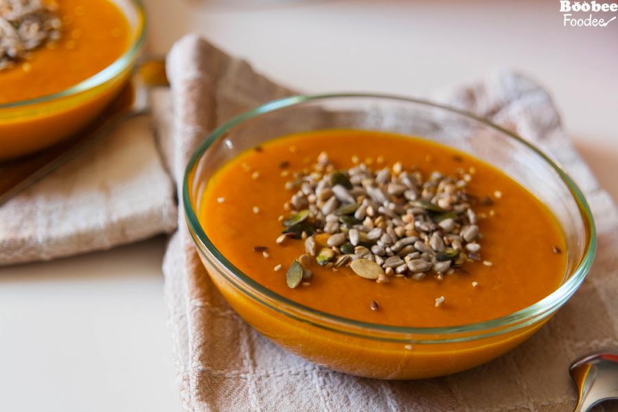 bucna juha z mesanimi semeni