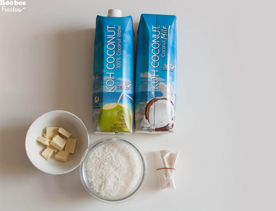 kokosov puding_sestavine