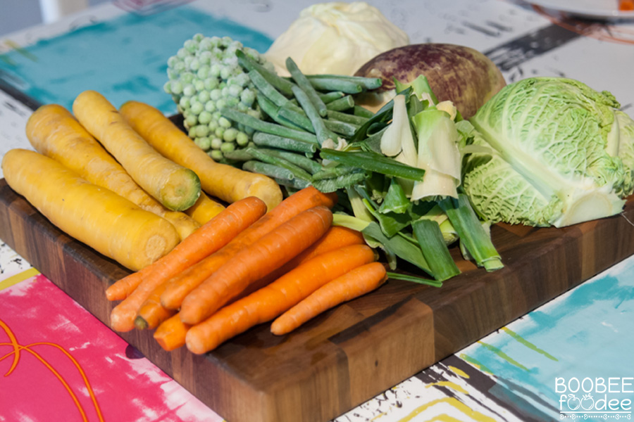Mešanica za hitre zelenjavne jedi