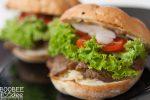 Domači fast food gurmanski sendvič