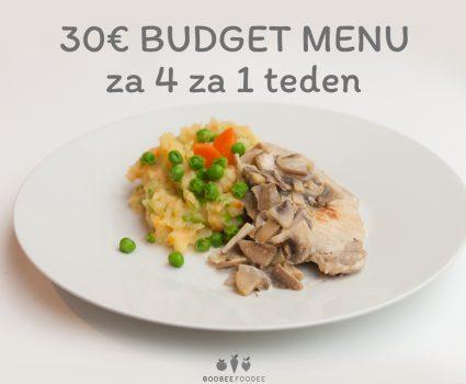 Budget menu 2 (30 €)