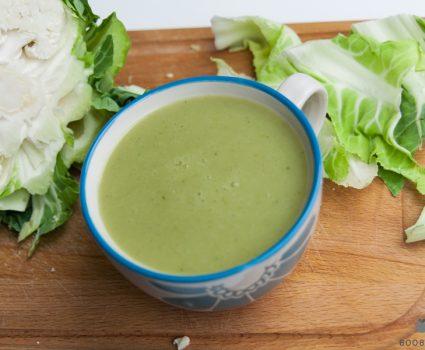 Cvetačno-brokolijeva juha